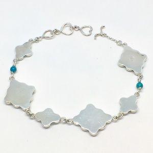 Jay King Jewelry - Jay King Sterling Silver & Turquoise Bracelet